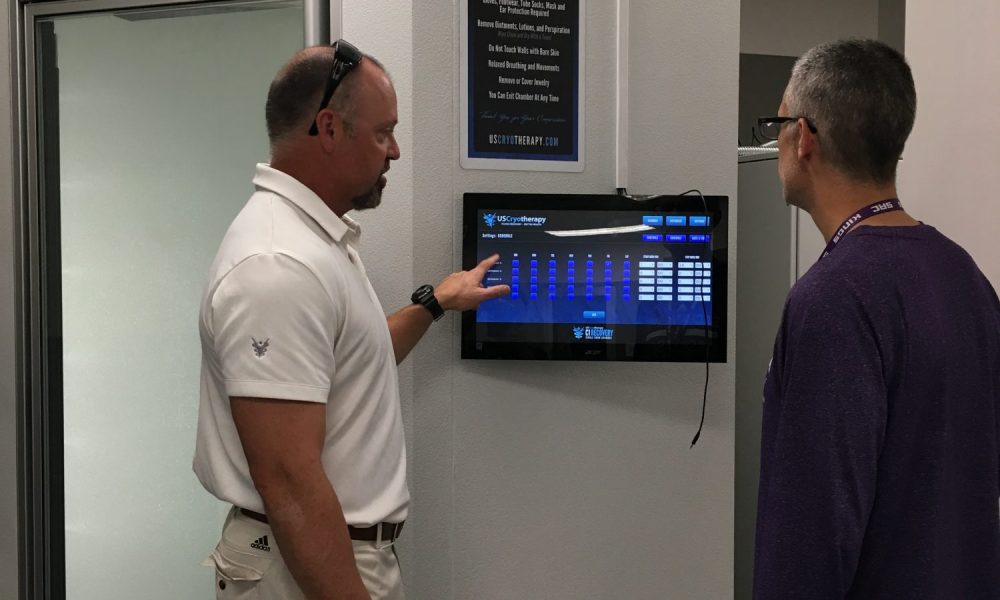 Kevin Kramer at a US Cryotherapy location